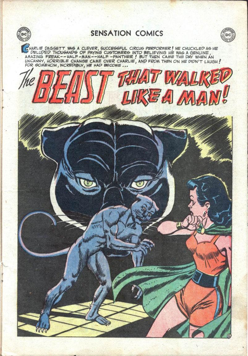 Read online Sensation (Mystery) Comics comic -  Issue #109 - 13