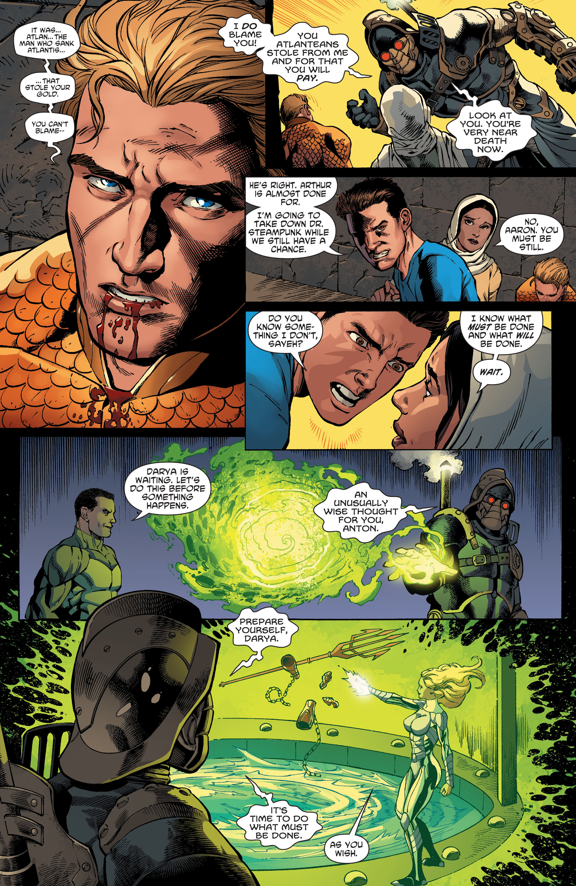 Read online Aquaman and the Others comic -  Issue #5 - 5