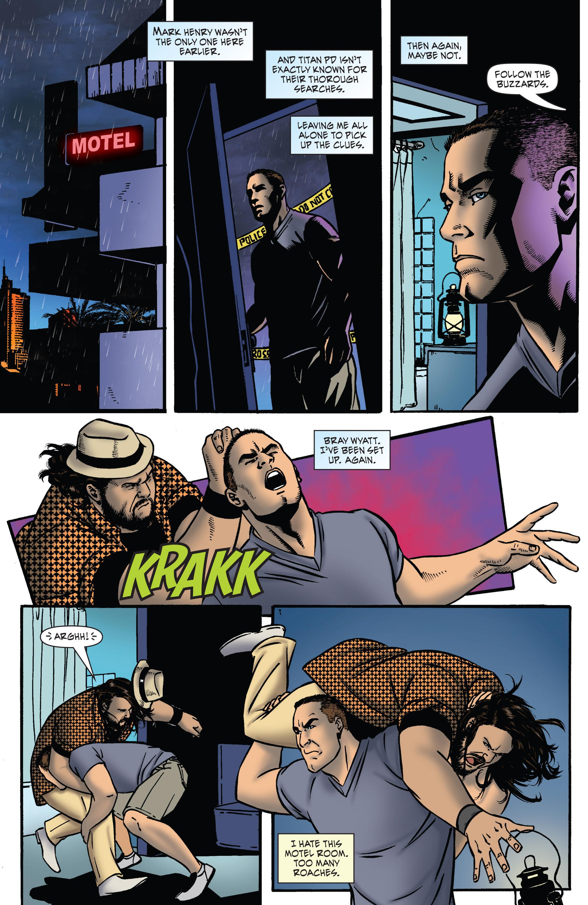 Read online WWE Superstars comic -  Issue #2 - 17