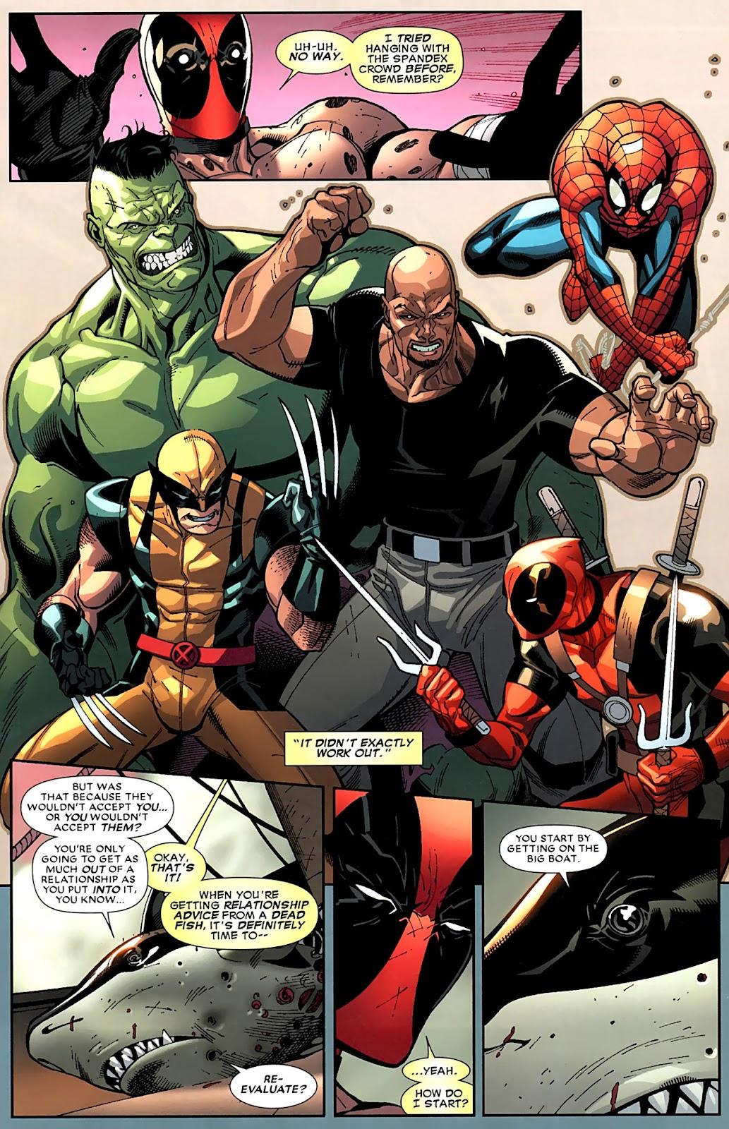 Read online Deadpool (2008) comic -  Issue #15 - 12