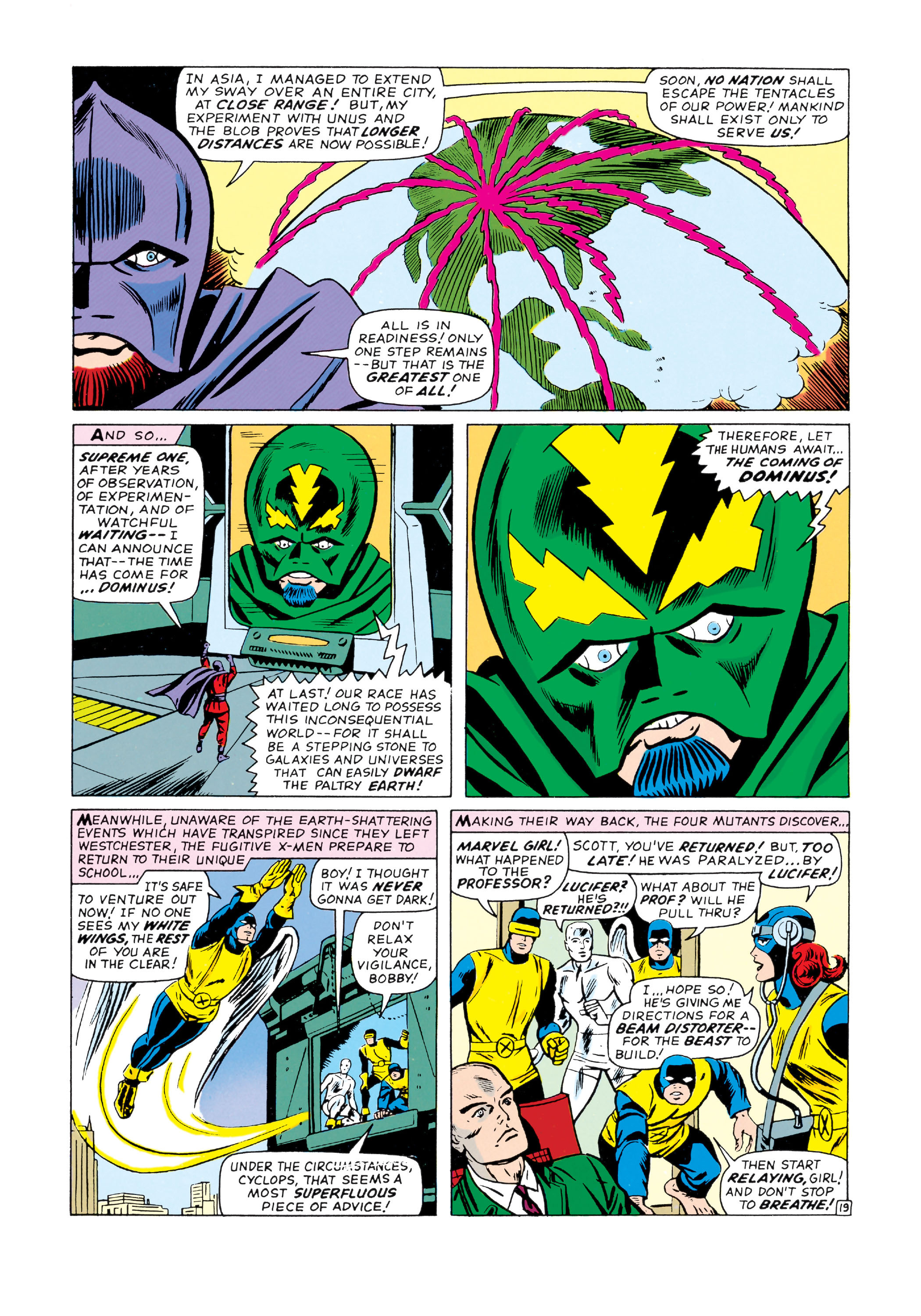Read online Uncanny X-Men (1963) comic -  Issue #20 - 20