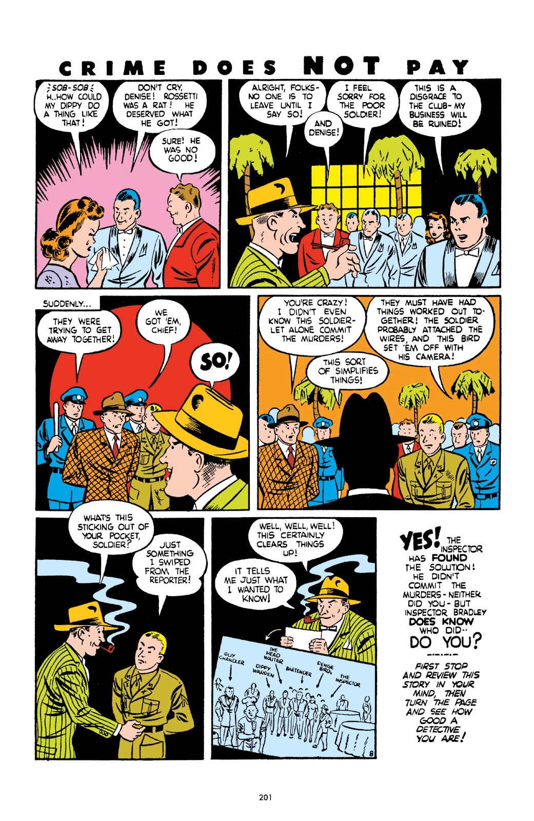 Read online Crime Does Not Pay Archives comic -  Issue # TPB 2 (Part 3) - 1