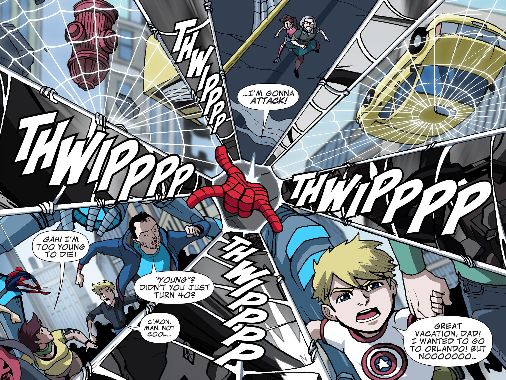 Read online Ultimate Spider-Man (Infinite Comics) (2015) comic -  Issue #6 - 13