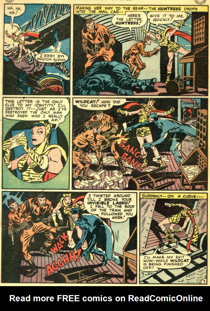 Read online Sensation (Mystery) Comics comic -  Issue #69 - 50