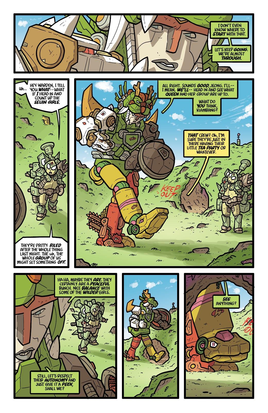 Read online Kaijumax: Season Four comic -  Issue #5 - 15