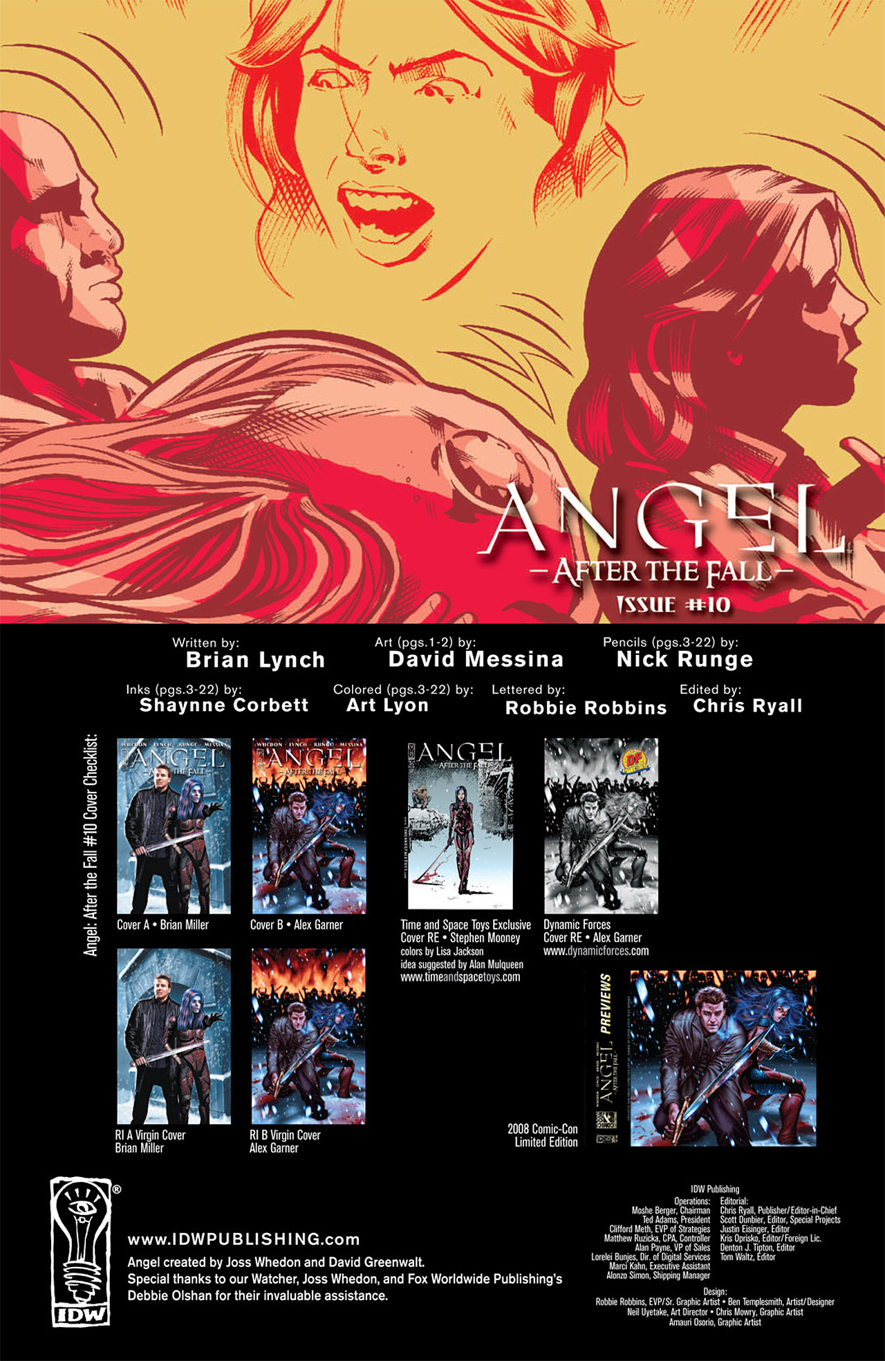 Read online Angel: After The Fall comic -  Issue #10 - 3