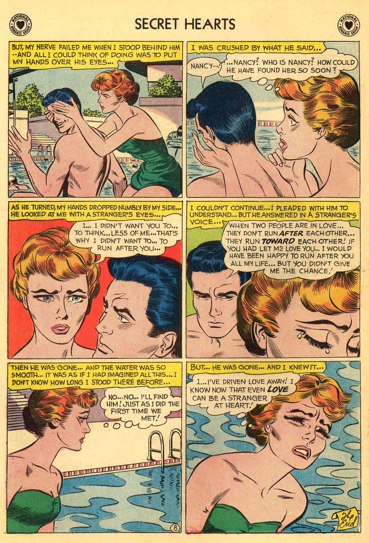 Read online Secret Hearts comic -  Issue #55 - 34