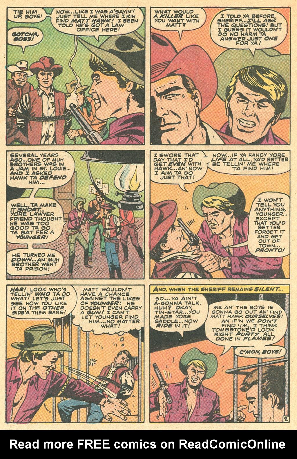Read online Two-Gun Kid comic -  Issue #97 - 4
