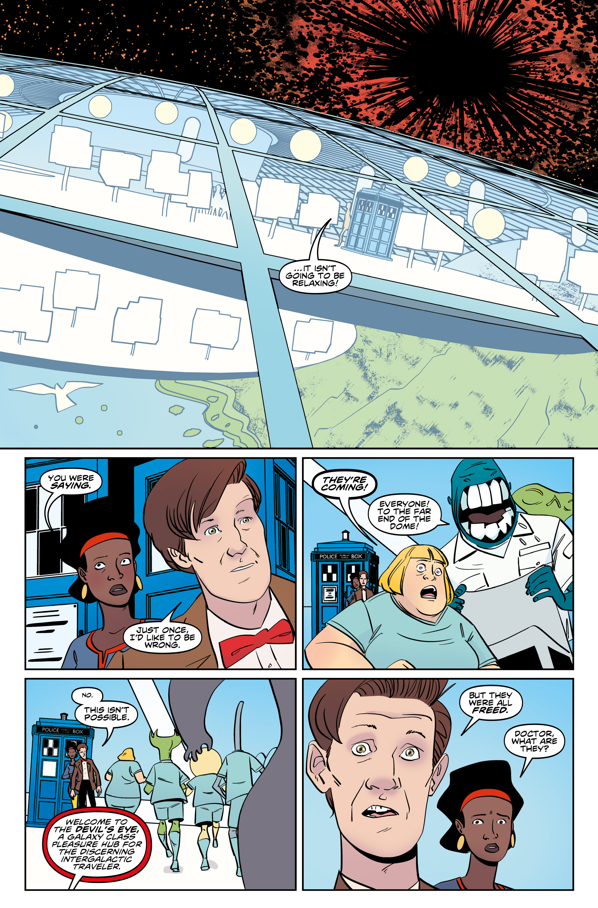 Read online Doctor Who: The Eleventh Doctor Year Three comic -  Issue #5 - 9