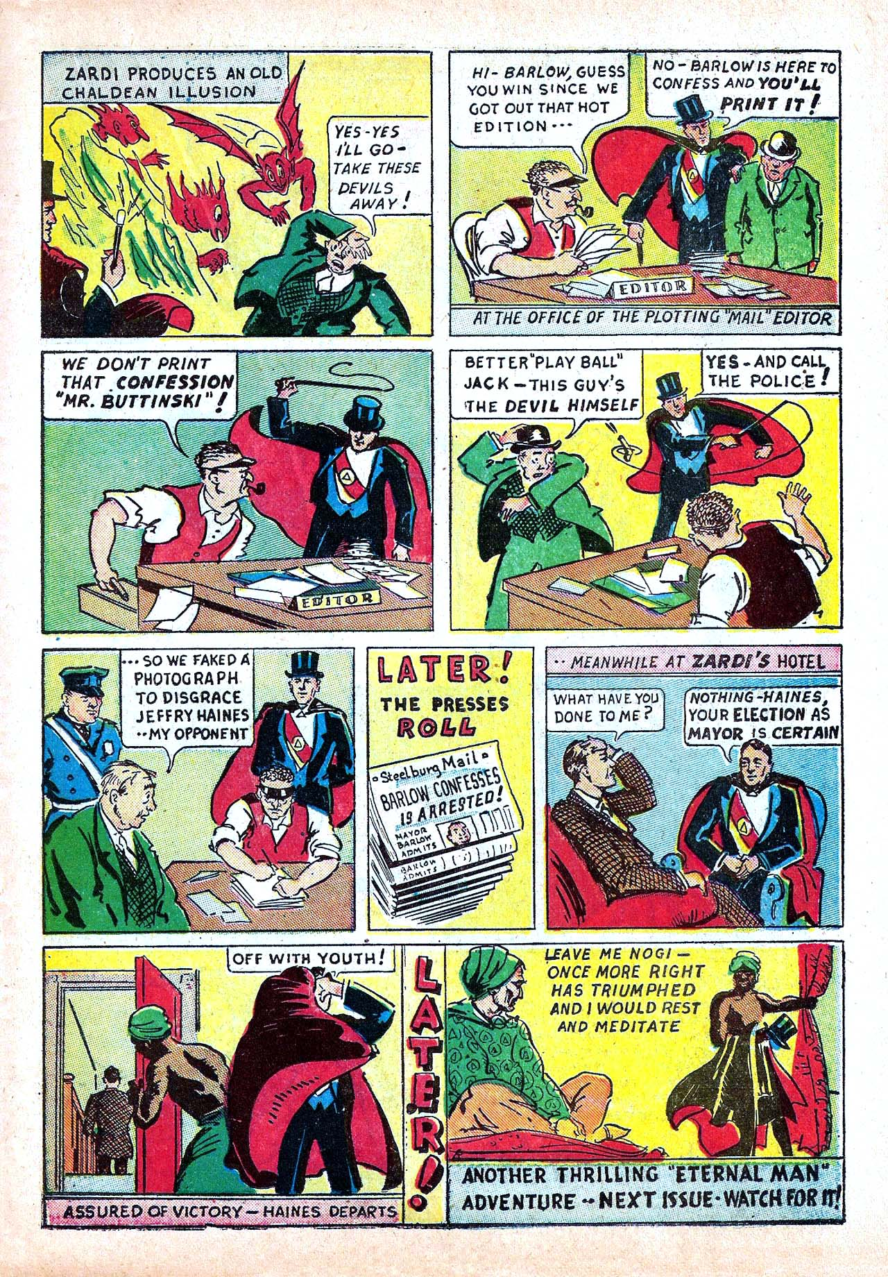 Read online Amazing Man Comics comic -  Issue #11 - 43