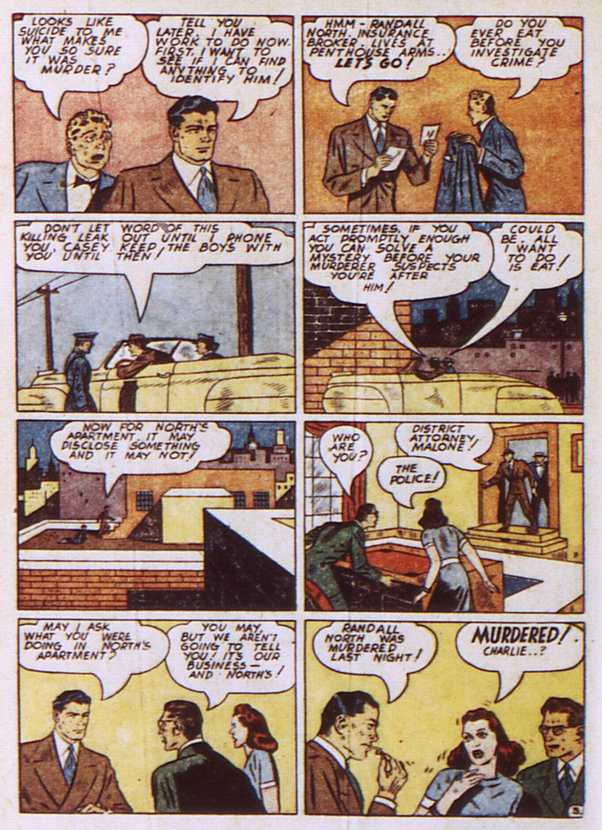 Read online Detective Comics (1937) comic -  Issue #52 - 54