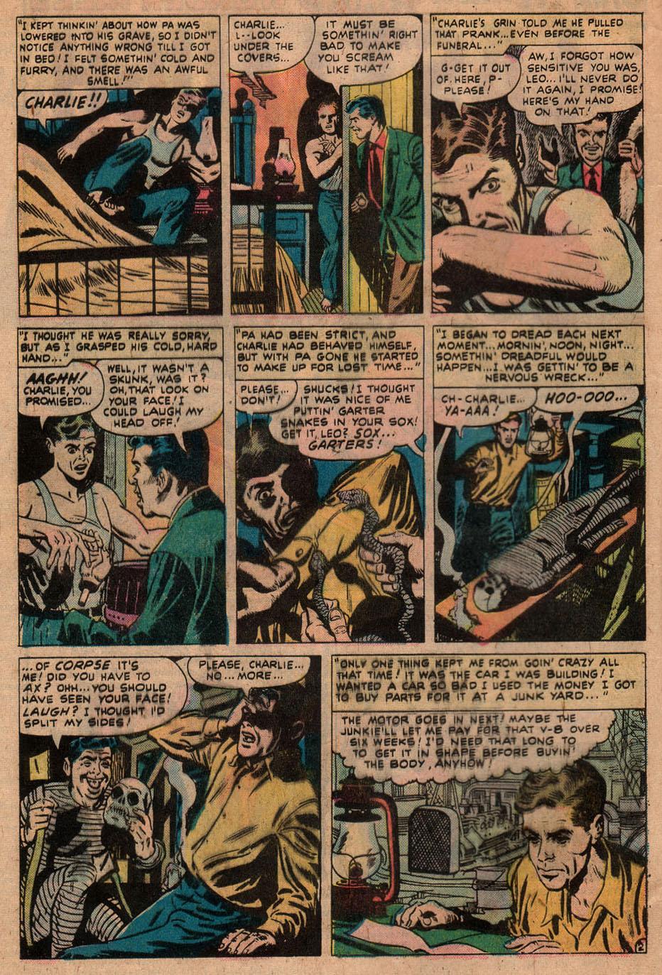 Read online Adventures into Weird Worlds comic -  Issue #9 - 18