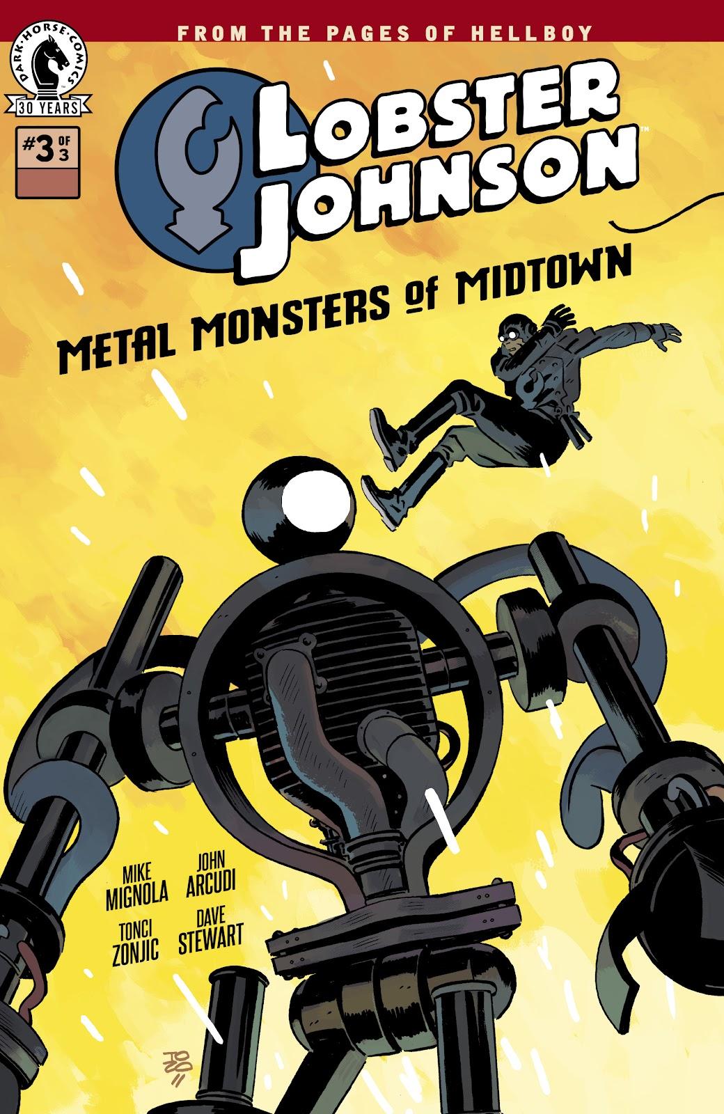 Lobster Johnson: Metal Monsters of Midtown 3 Page 1