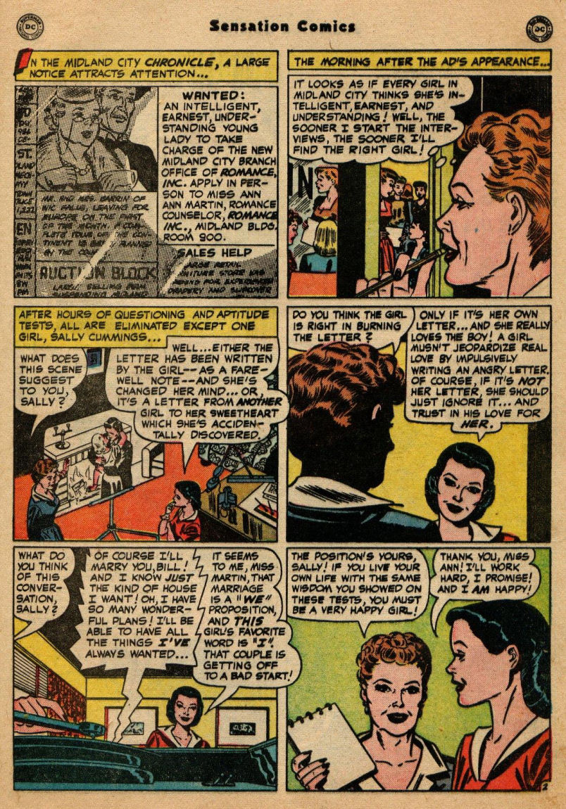 Read online Sensation (Mystery) Comics comic -  Issue #100 - 43