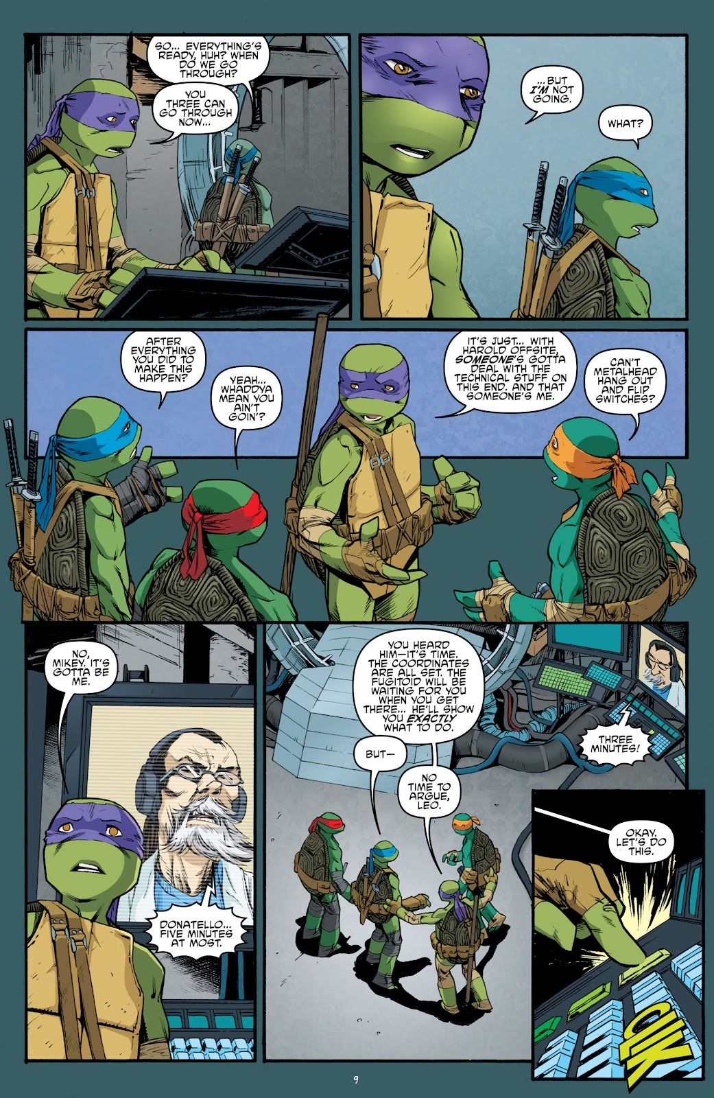 Read online Teenage Mutant Ninja Turtles: The IDW Collection comic -  Issue # TPB 5 (Part 3) - 95