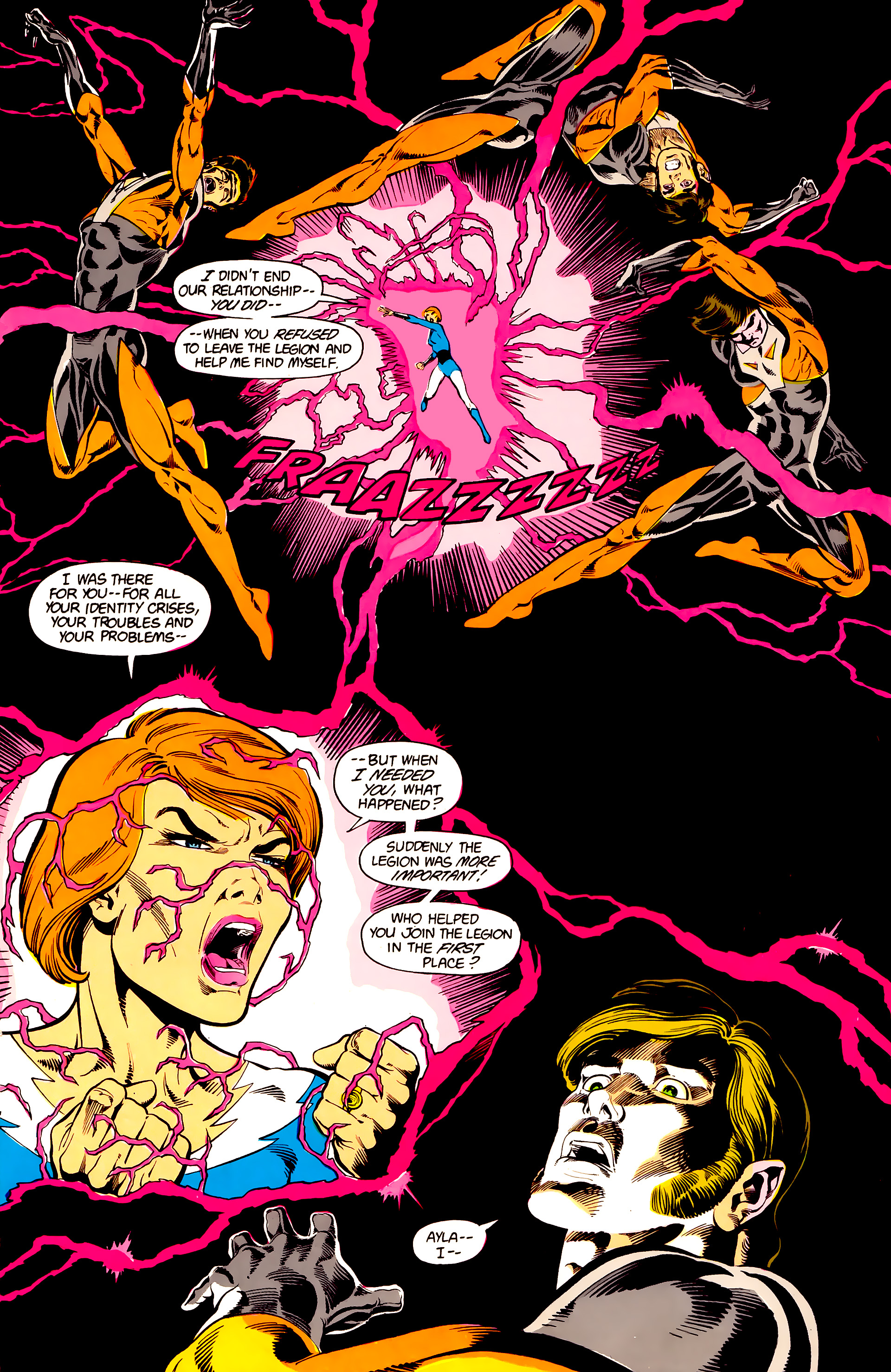 Legion of Super-Heroes (1984) 24 Page 28