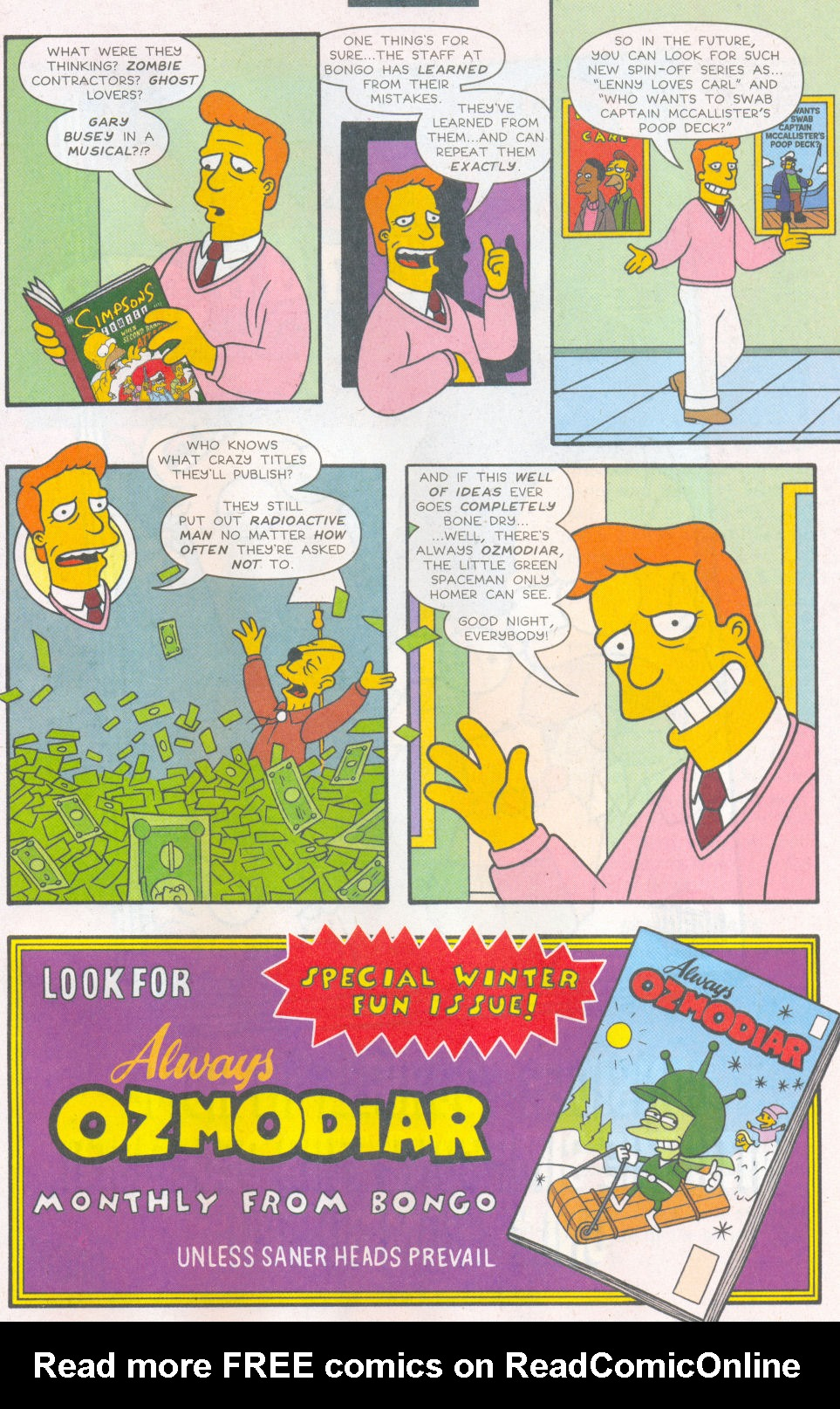 Read online Simpsons Comics comic -  Issue #112 - 28