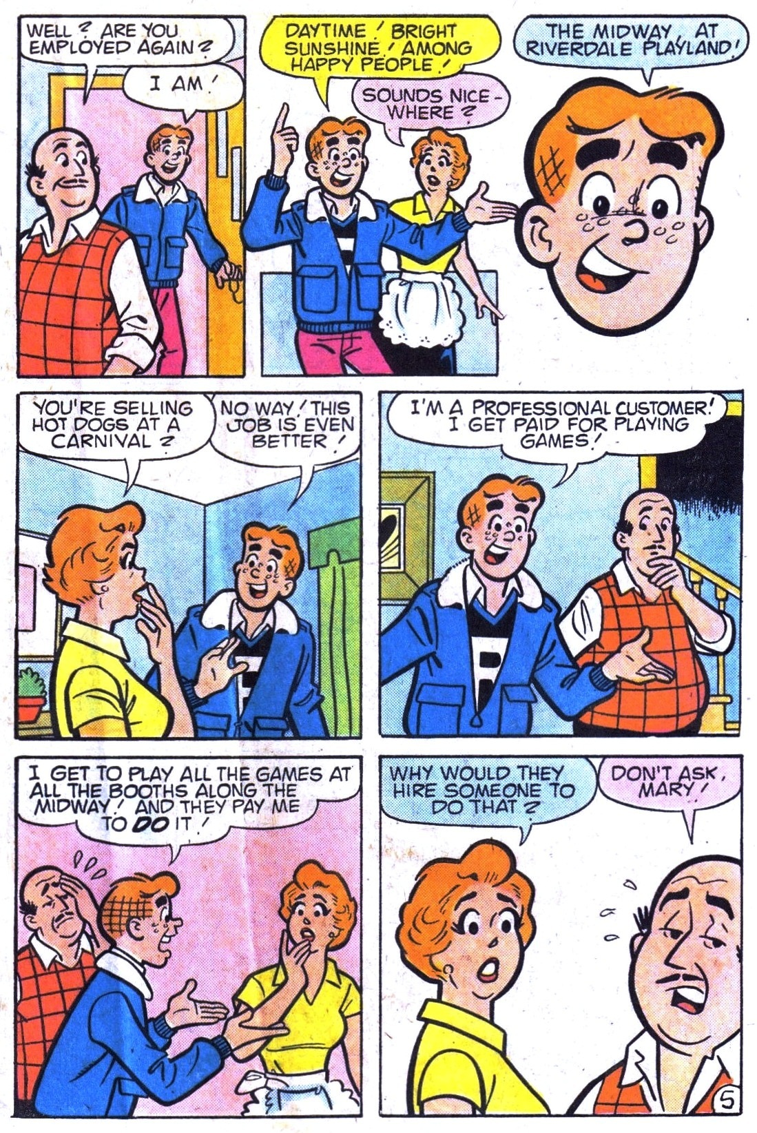 Read online Archie (1960) comic -  Issue #323 - 7