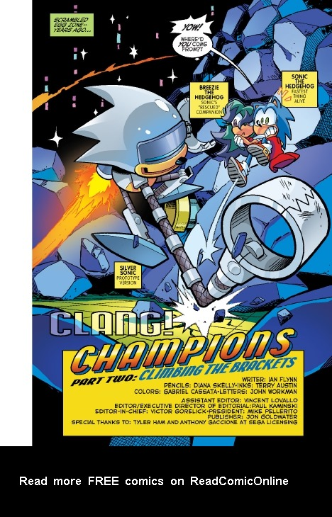 Read online Sonic Comics Spectacular: Speed of Sound comic -  Issue # Full - 17