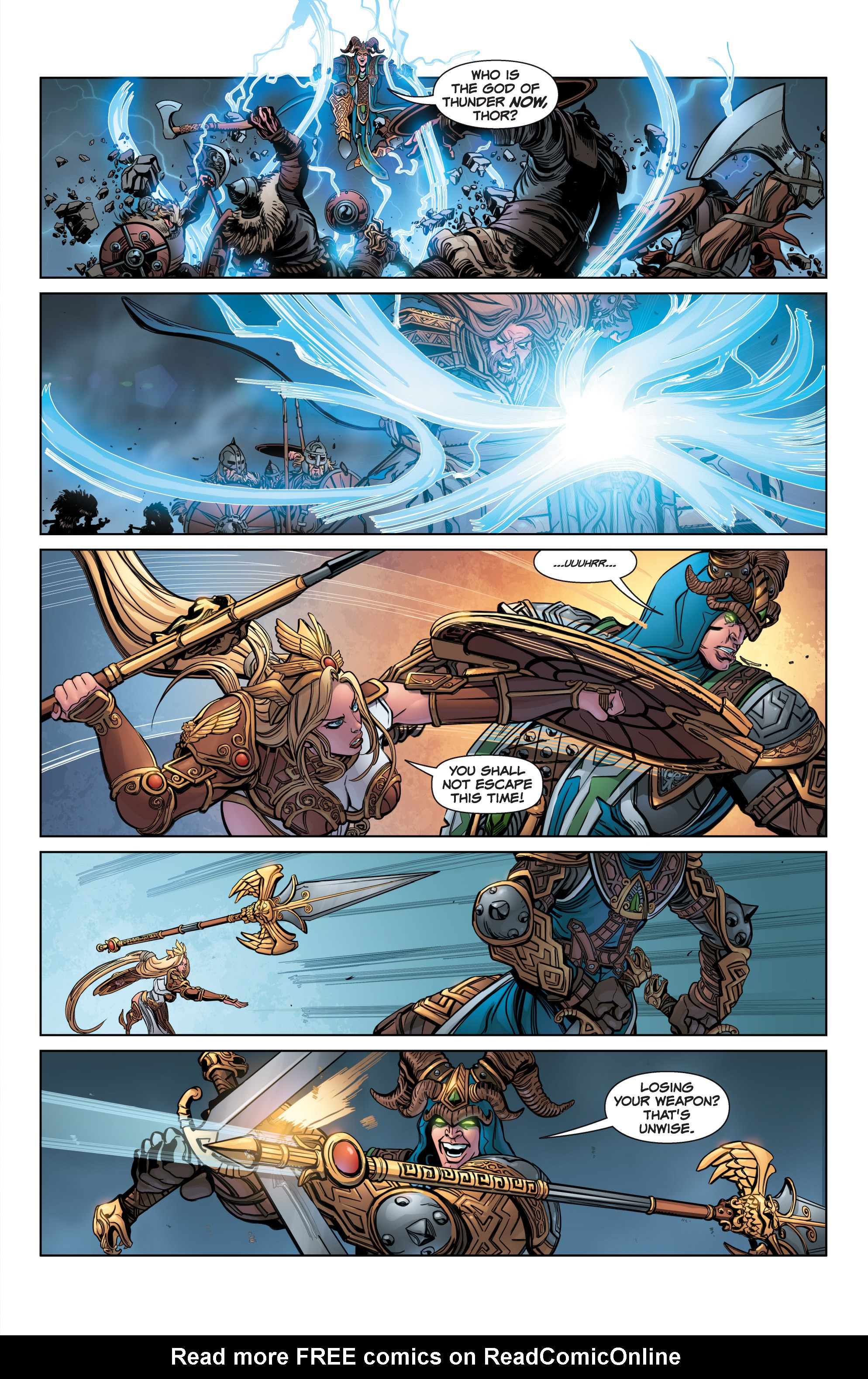 Read online SMITE: The Pantheon War comic -  Issue #3 - 13
