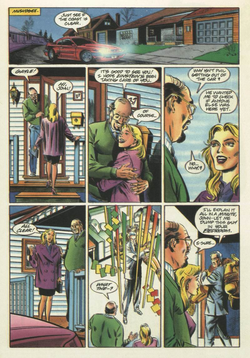 Read online Solar, Man of the Atom comic -  Issue #31 - 7
