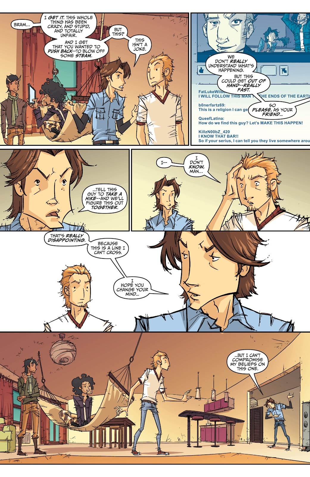 Read online The End Times of Bram and Ben comic -  Issue #2 - 9