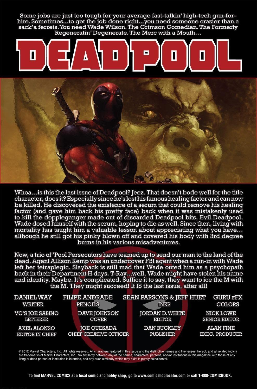 Read online Deadpool (2008) comic -  Issue #63 - 2