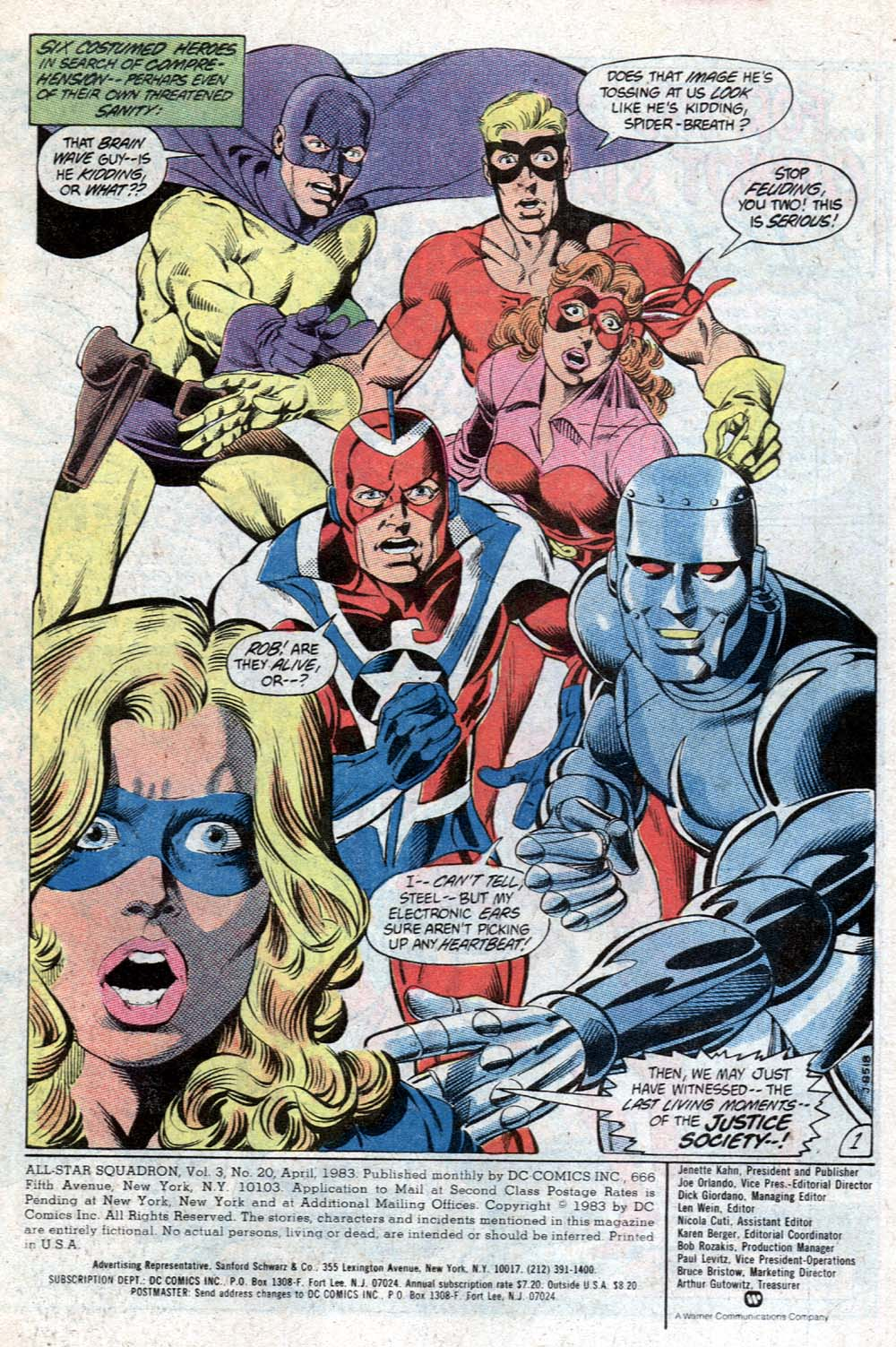 Read online All-Star Squadron comic -  Issue #20 - 2
