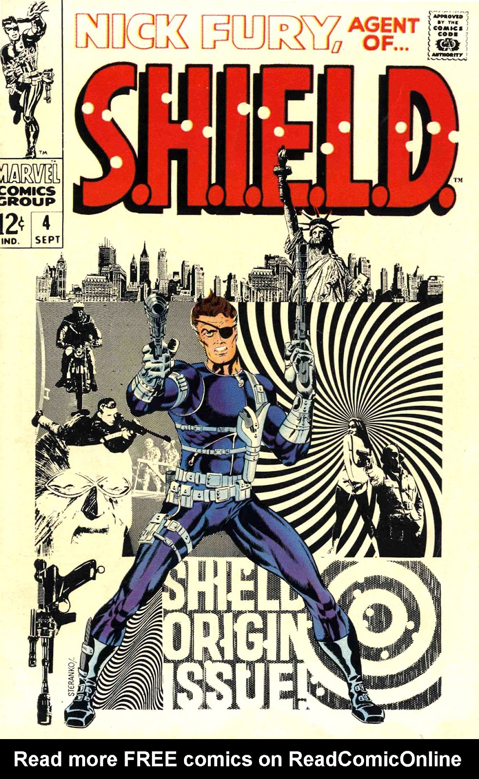 Nick Fury, Agent of SHIELD 4 Page 1