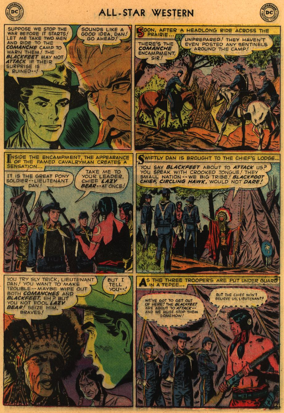 Read online All-Star Western (1951) comic -  Issue #98 - 22