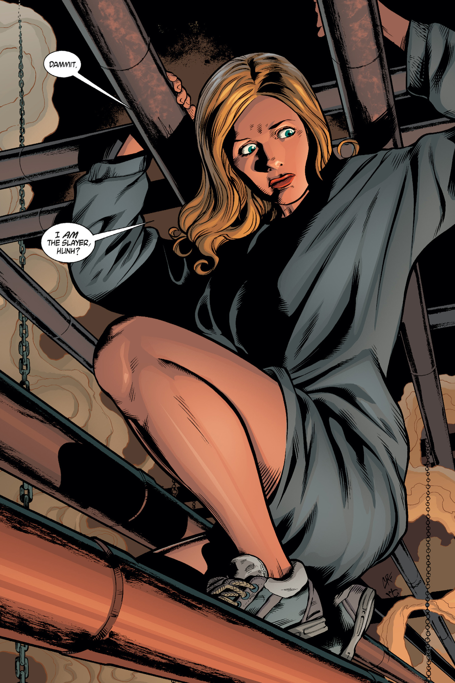 Read online Buffy the Vampire Slayer: Omnibus comic -  Issue # TPB 1 - 278