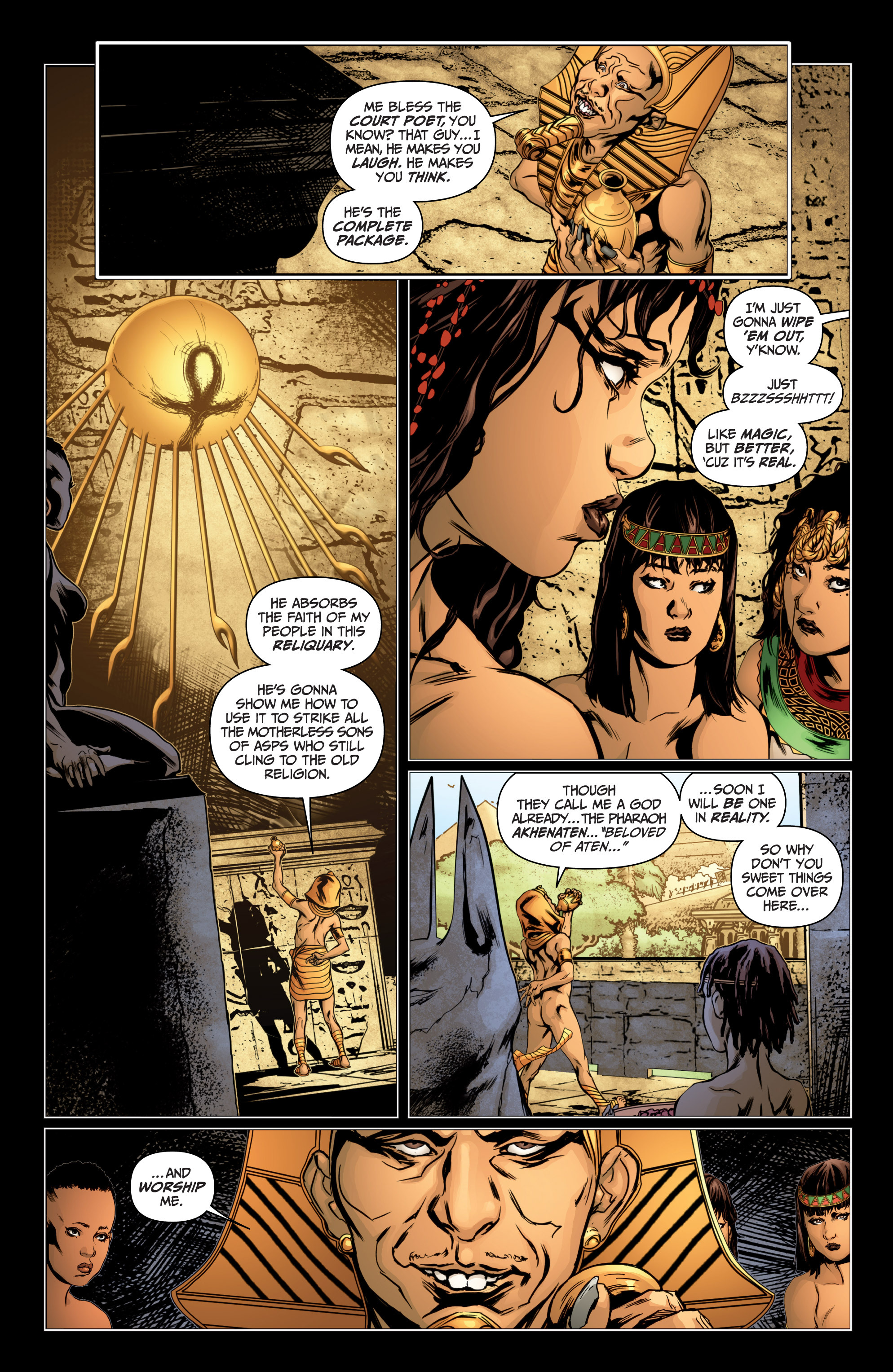 Read online Archer and Armstrong comic -  Issue #Archer and Armstrong _TPB 4 - 11