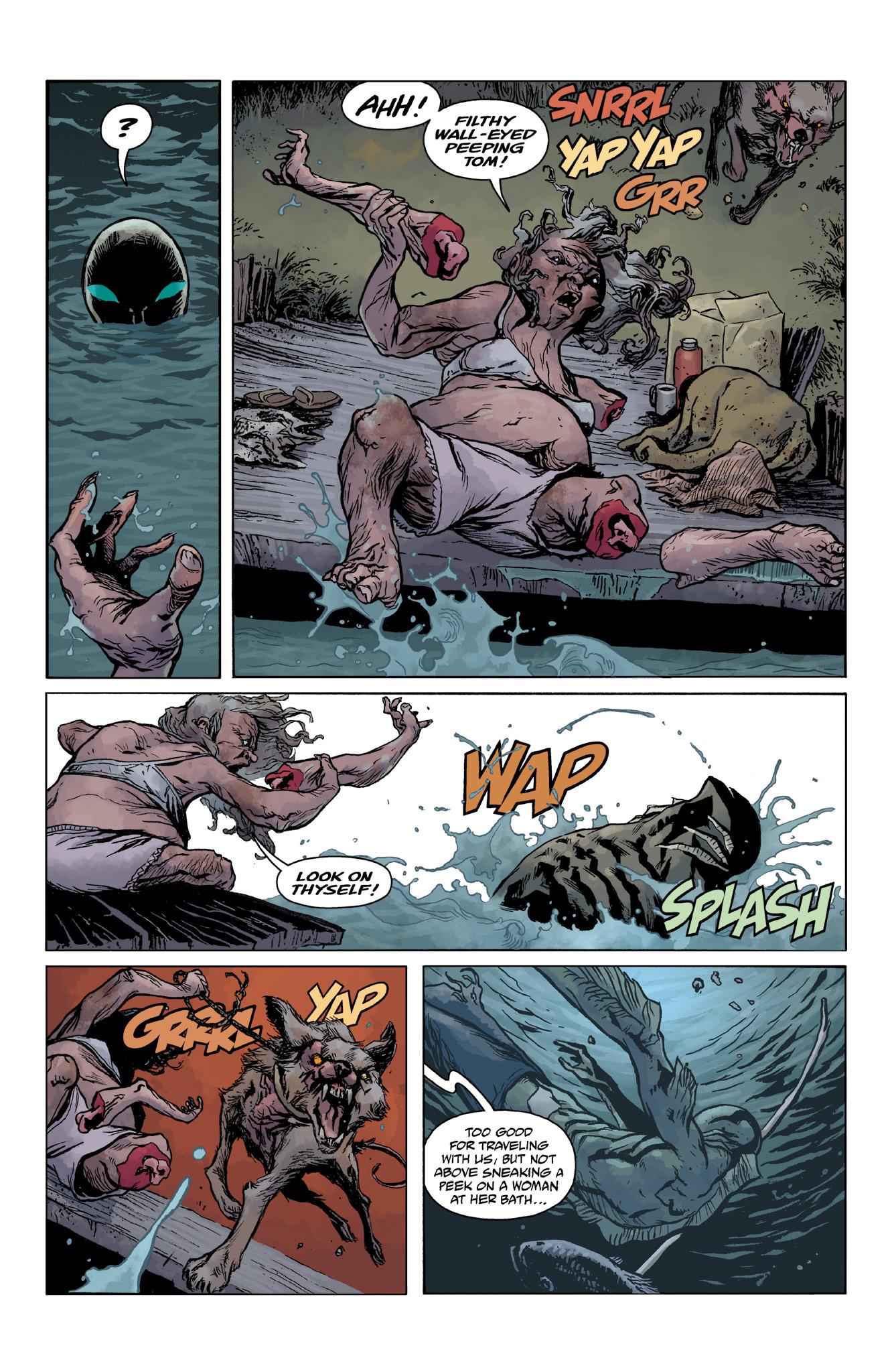 Read online Abe Sapien comic -  Issue #14 - 14