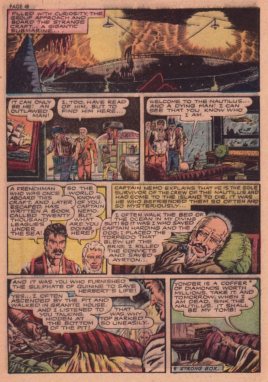 Classics Illustrated issue 34 - Page 45