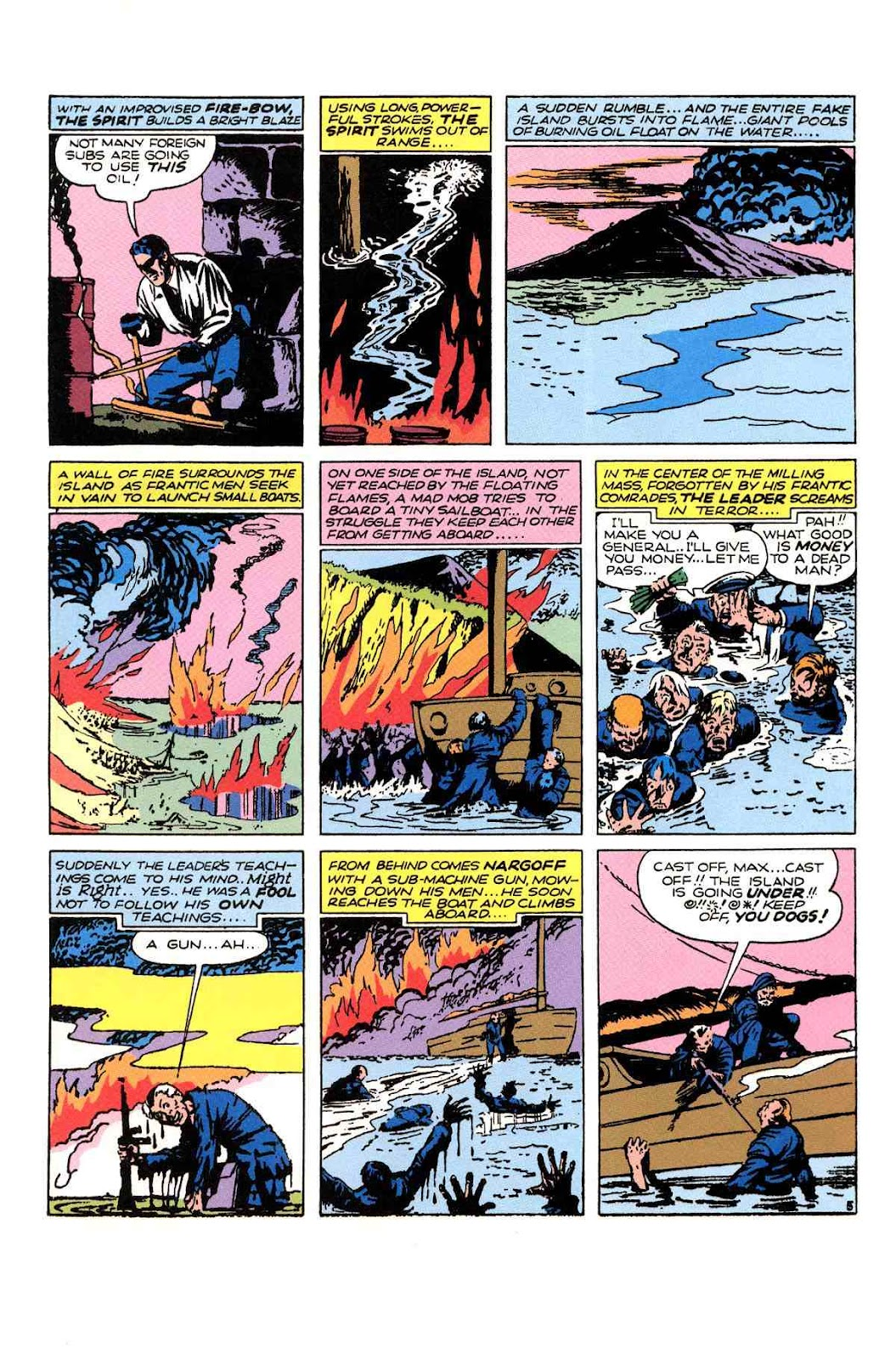 Read online Will Eisner's The Spirit Archives comic -  Issue # TPB 1 (Part 3) - 16