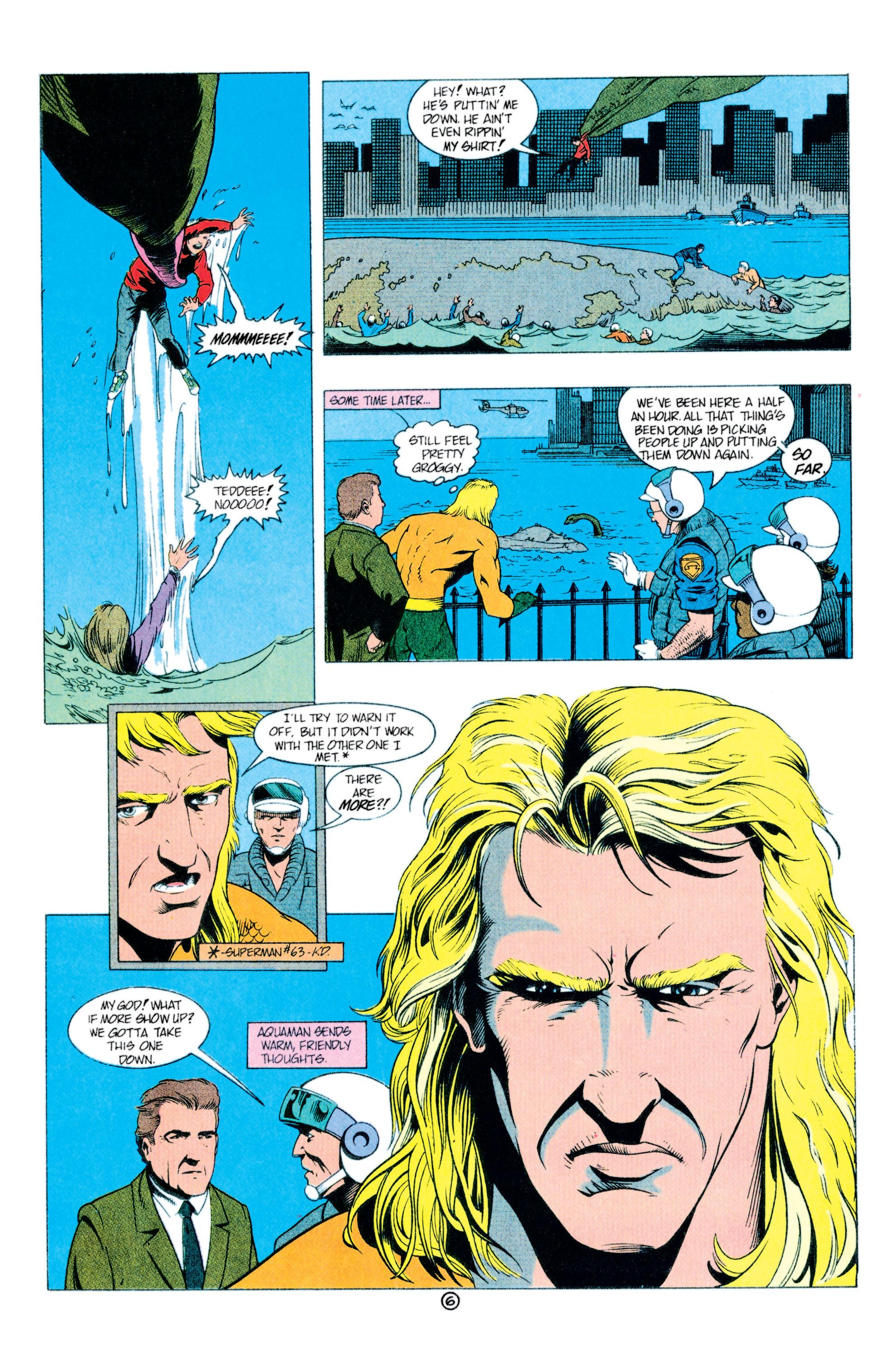 Read online Aquaman (1991) comic -  Issue #11 - 7