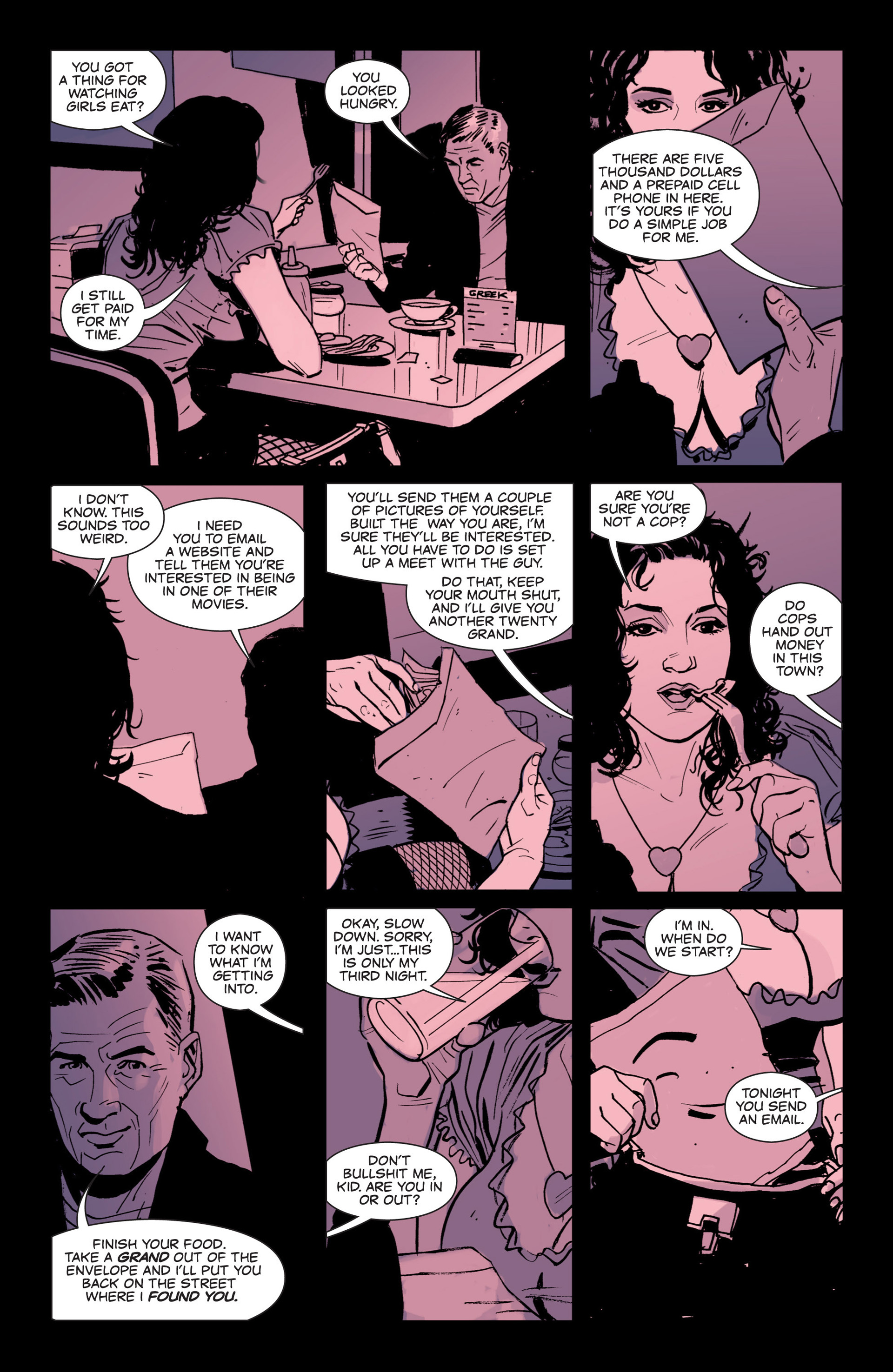 Read online Sex and Violence comic -  Issue # Full - 11