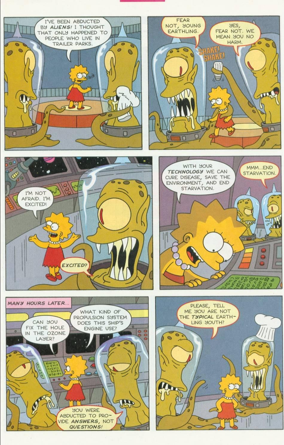 Read online Simpsons Comics Presents Bart Simpson comic -  Issue #1 - 23