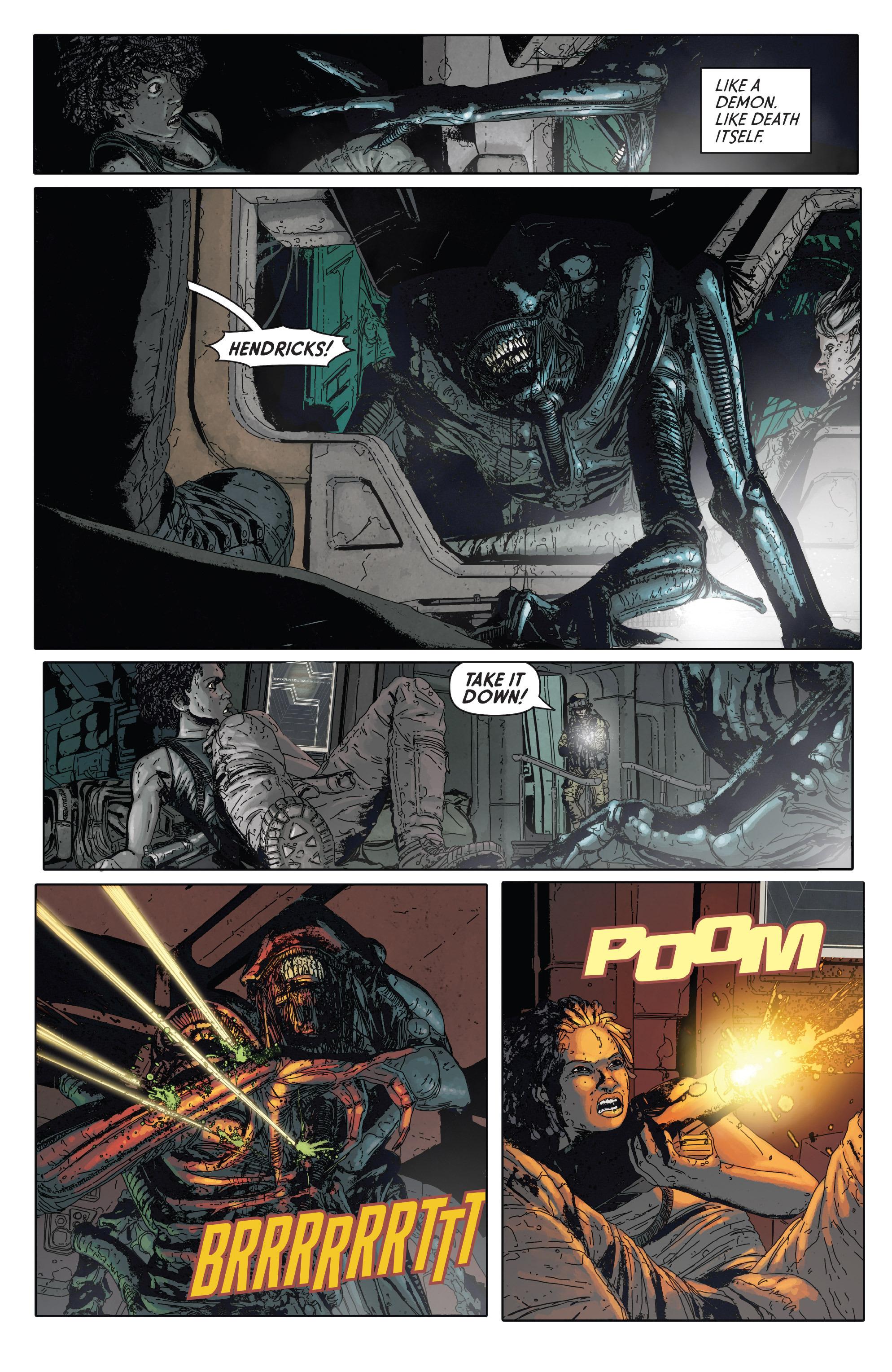 Read online Aliens: Defiance comic -  Issue #2 - 17