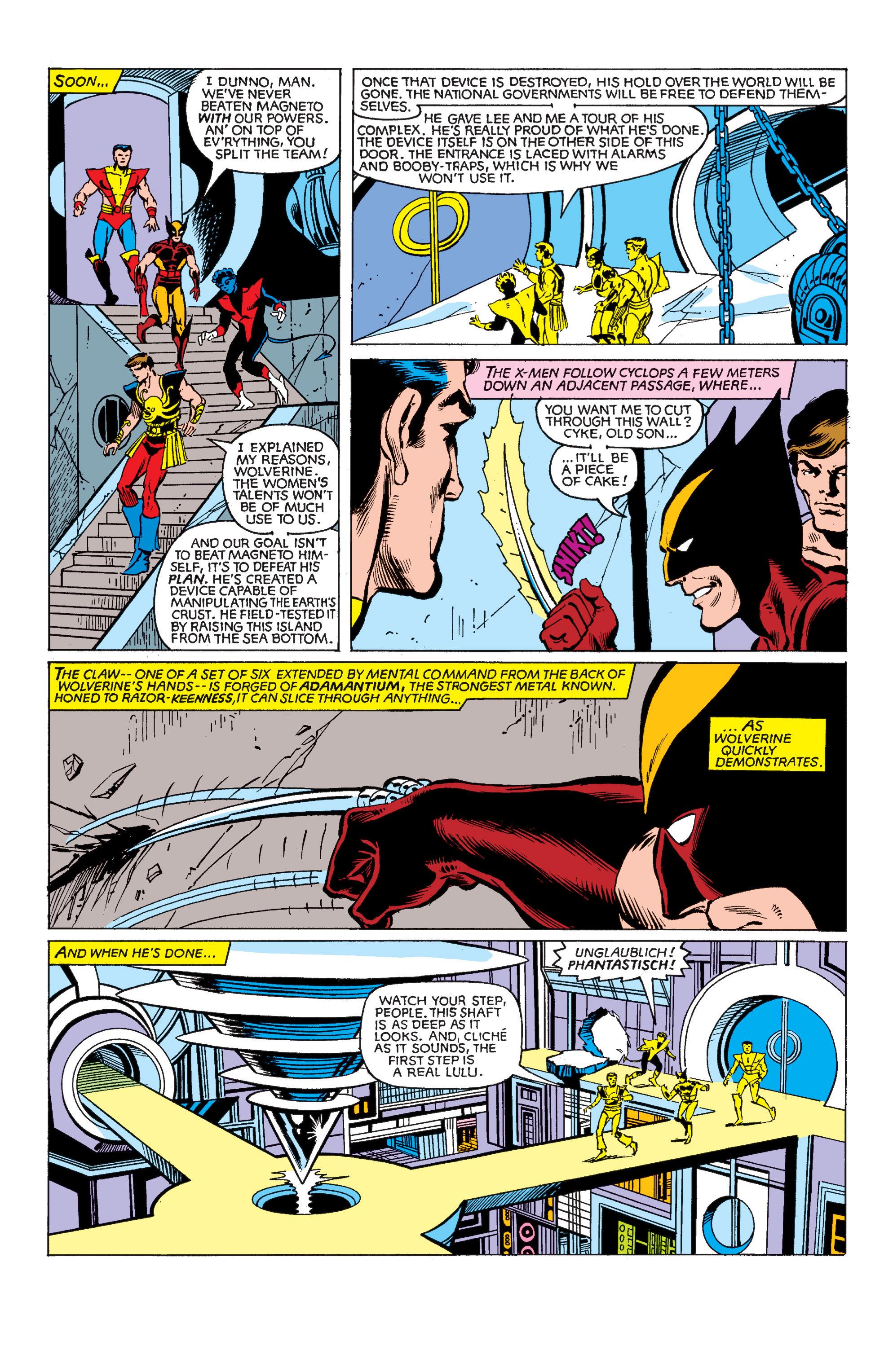 Read online Uncanny X-Men (1963) comic -  Issue #150 - 18