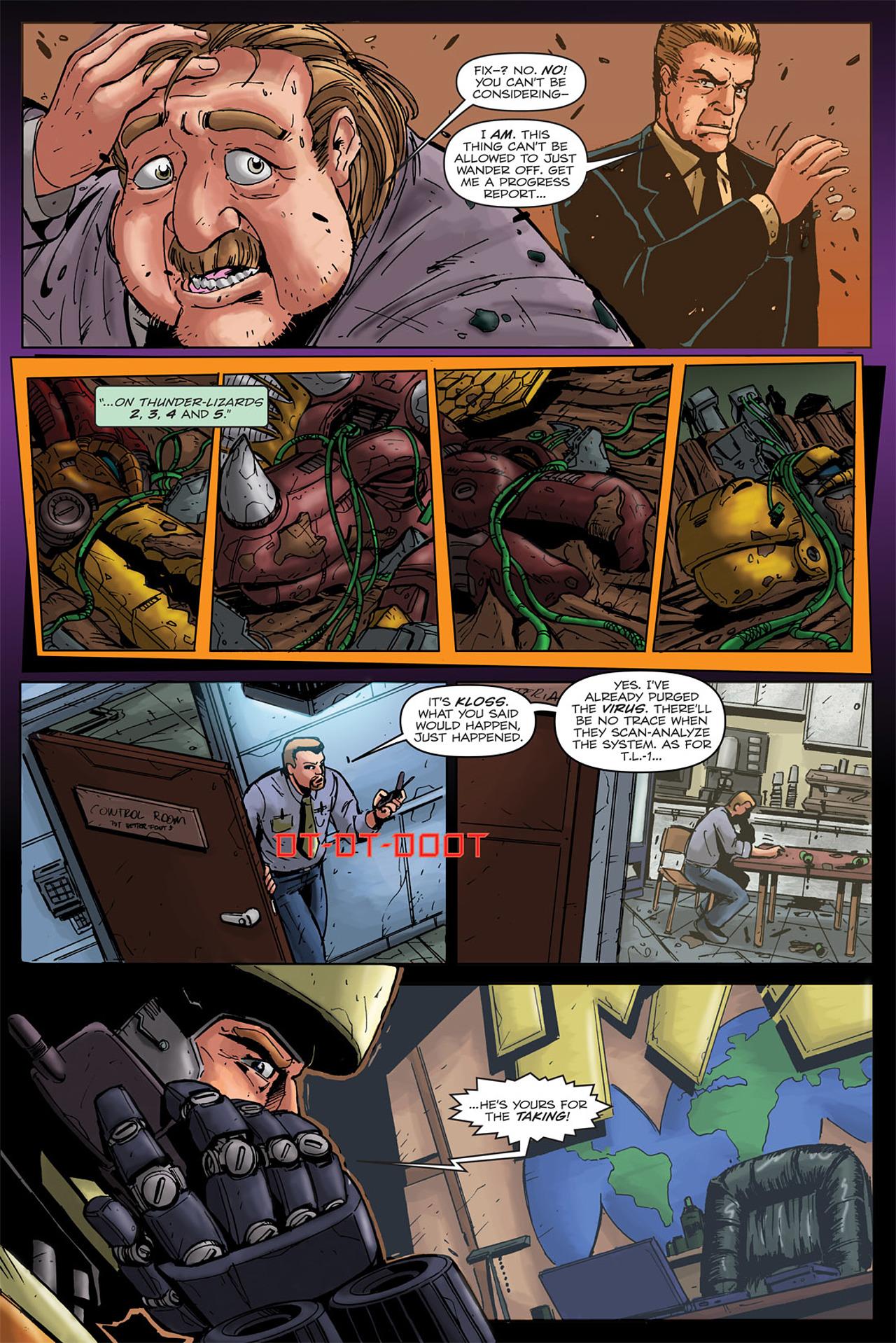 Read online Transformers Spotlight: Grimlock comic -  Issue # Full - 13