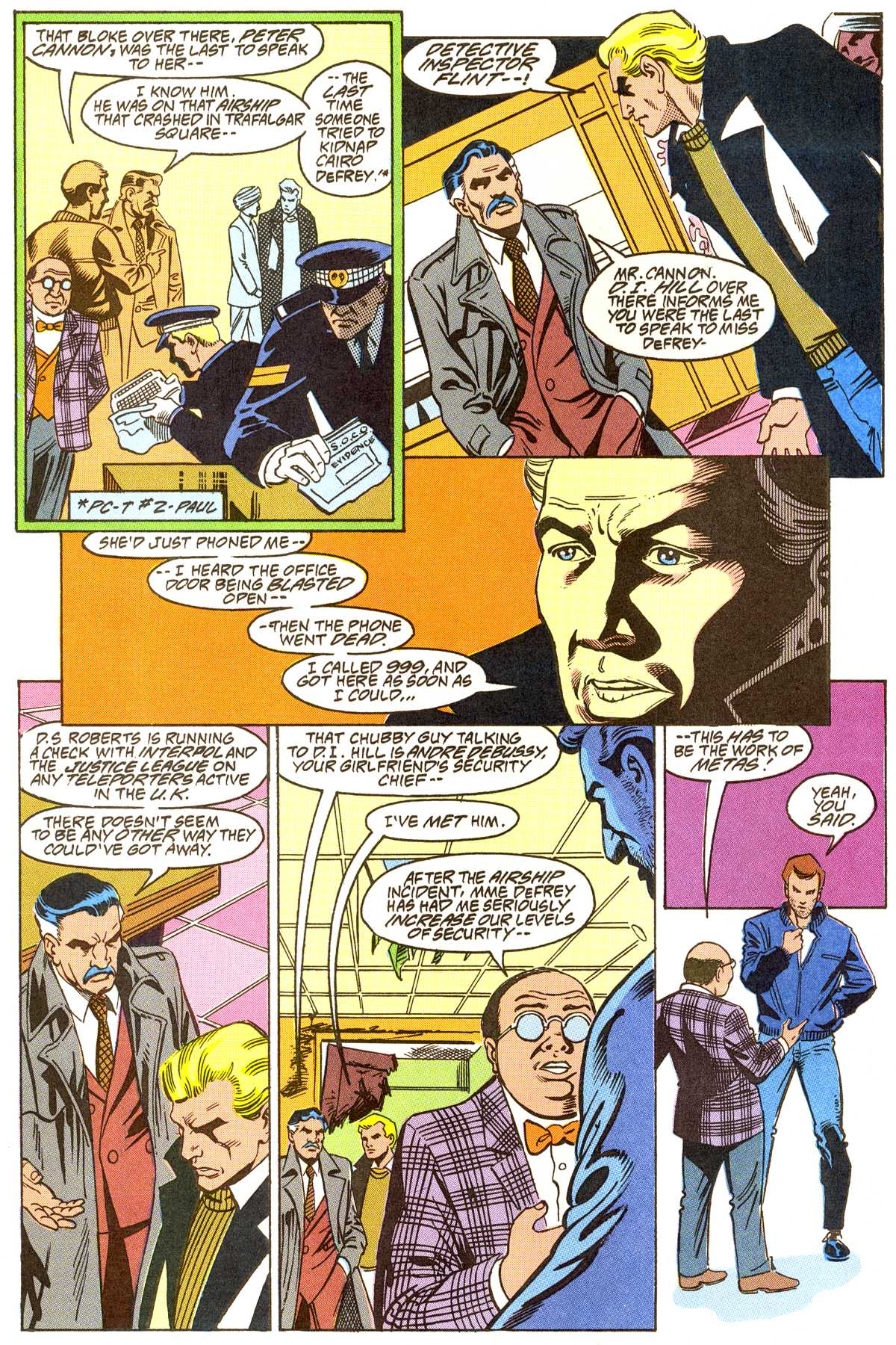 Read online Peter Cannon--Thunderbolt (1992) comic -  Issue #8 - 3