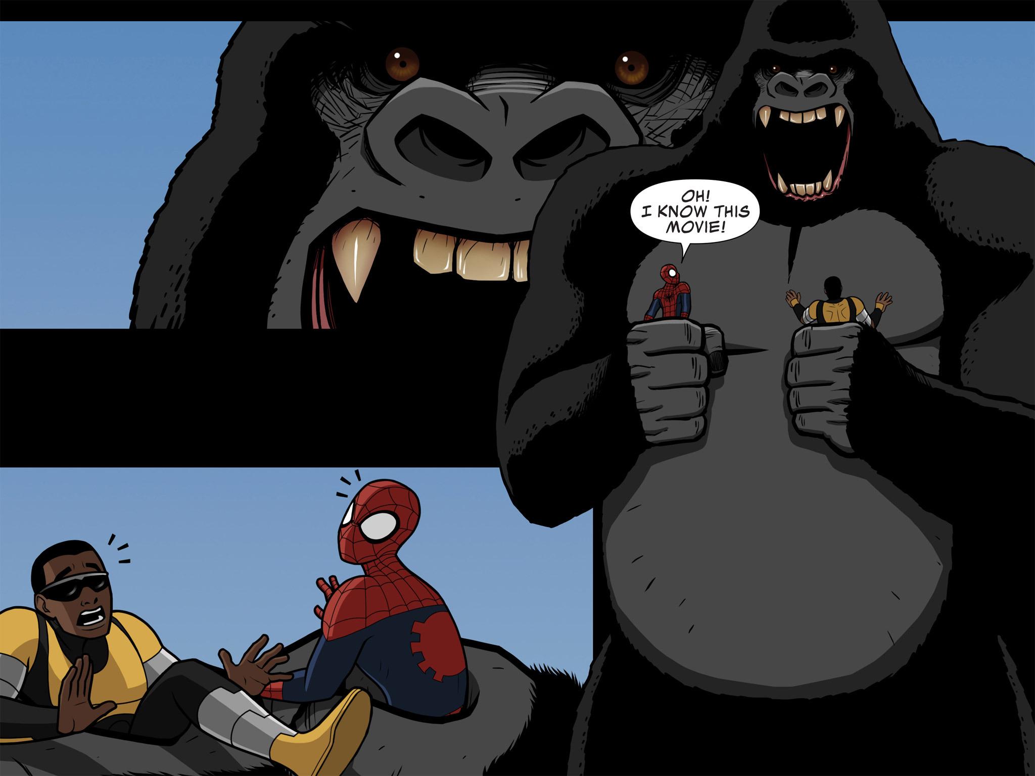 Read online Ultimate Spider-Man (Infinite Comics) (2015) comic -  Issue #10 - 24