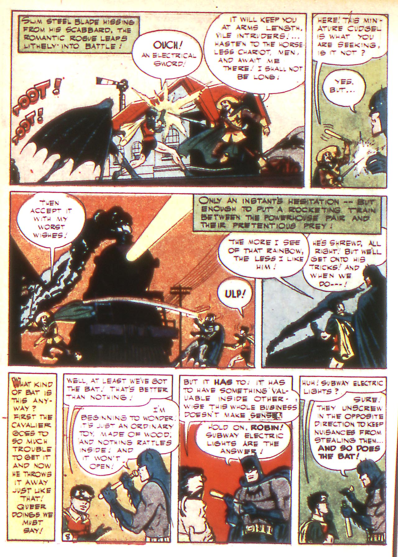 Read online Detective Comics (1937) comic -  Issue #81 - 10