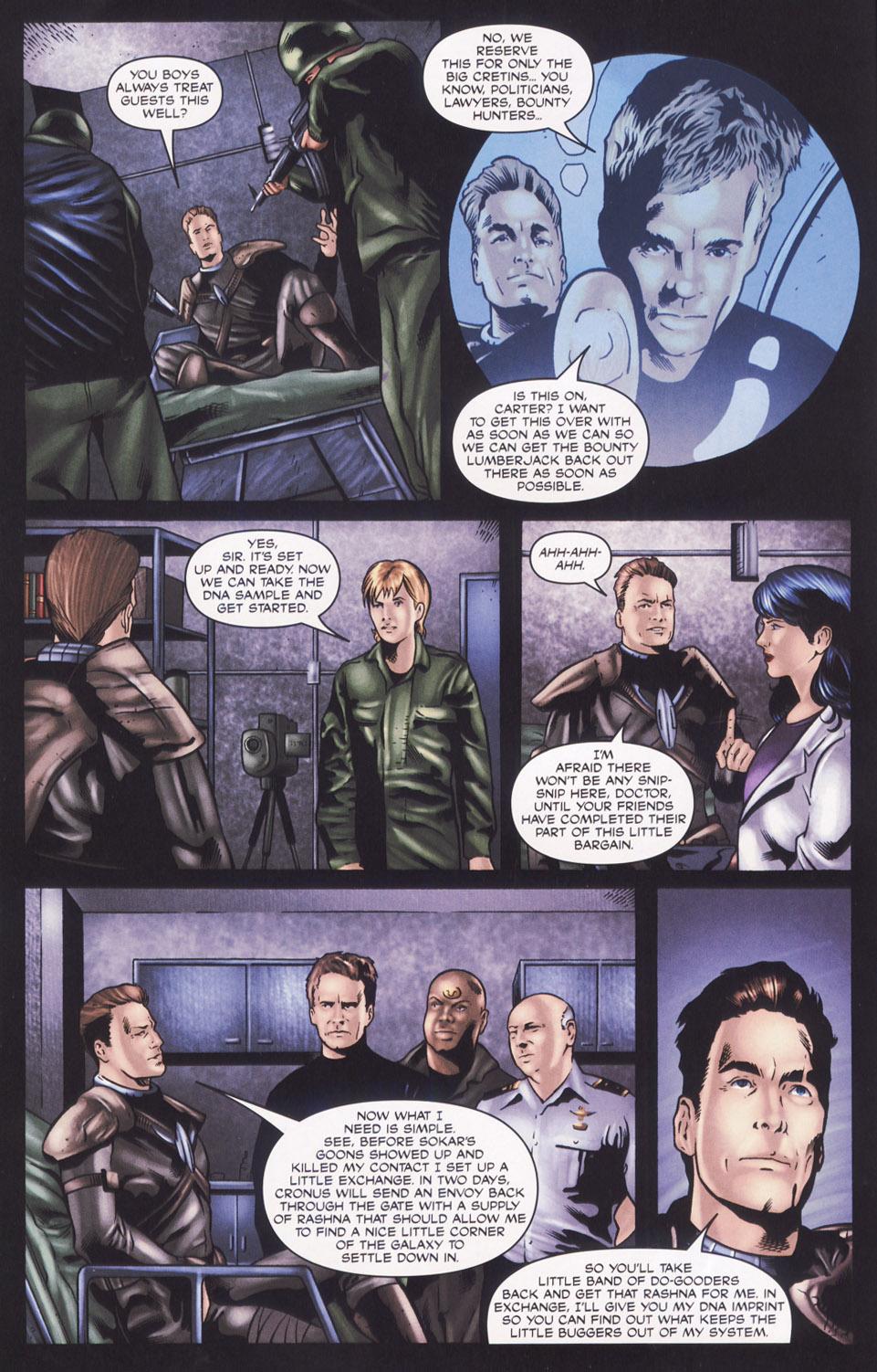 Read online Stargate SG-1: Aris Boch comic -  Issue # Full - 8