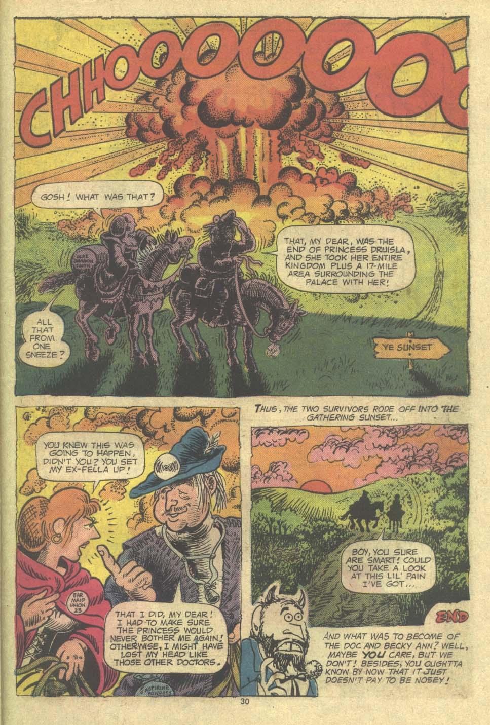 Read online Plop! comic -  Issue #9 - 31