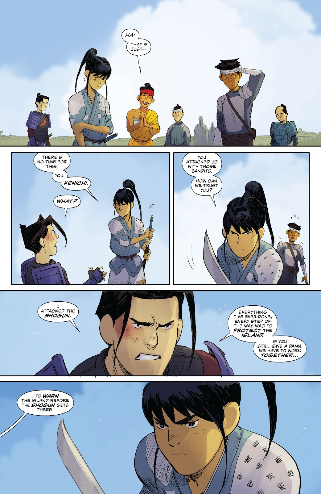 Read online Ronin Island comic -  Issue #8 - 9