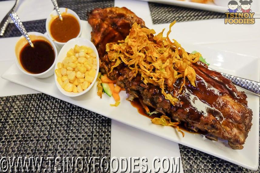 Nba cafe american food over basketball games sm aura for Aura global cuisine