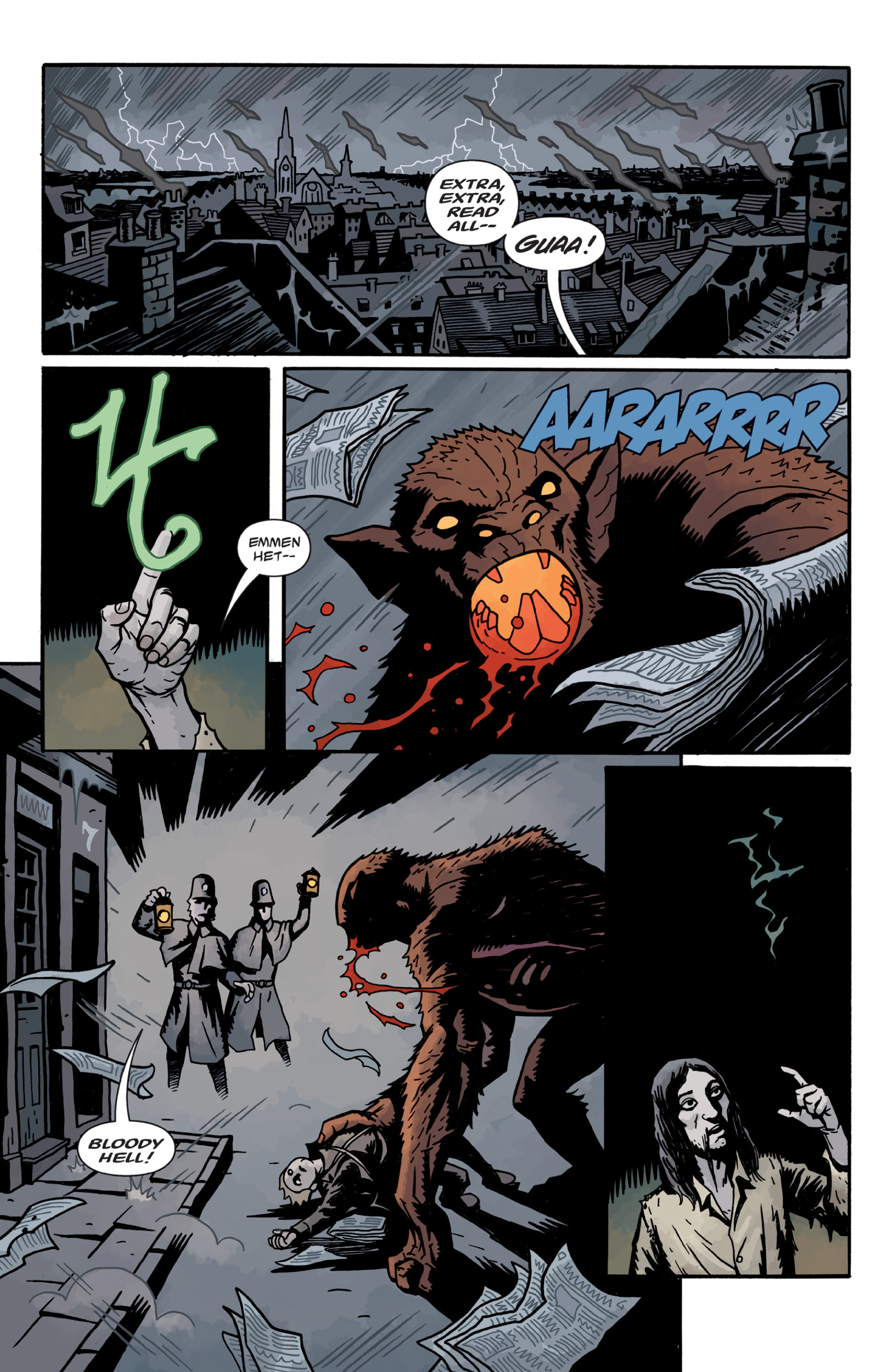 Read online Sir Edward Grey, Witchfinder: In the Service of Angels comic -  Issue # TPB - 106