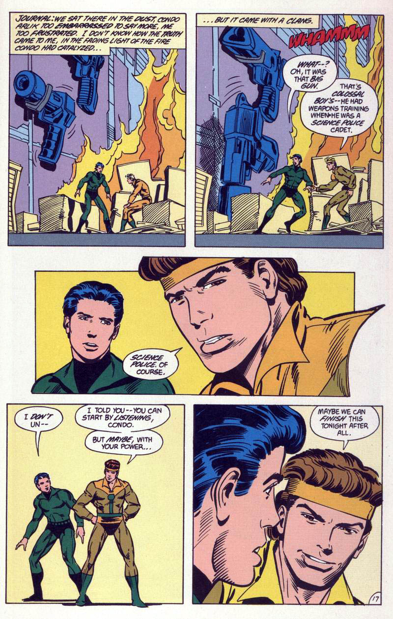Legion of Super-Heroes (1984) 59 Page 17
